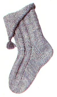 Детские носки с отворотом